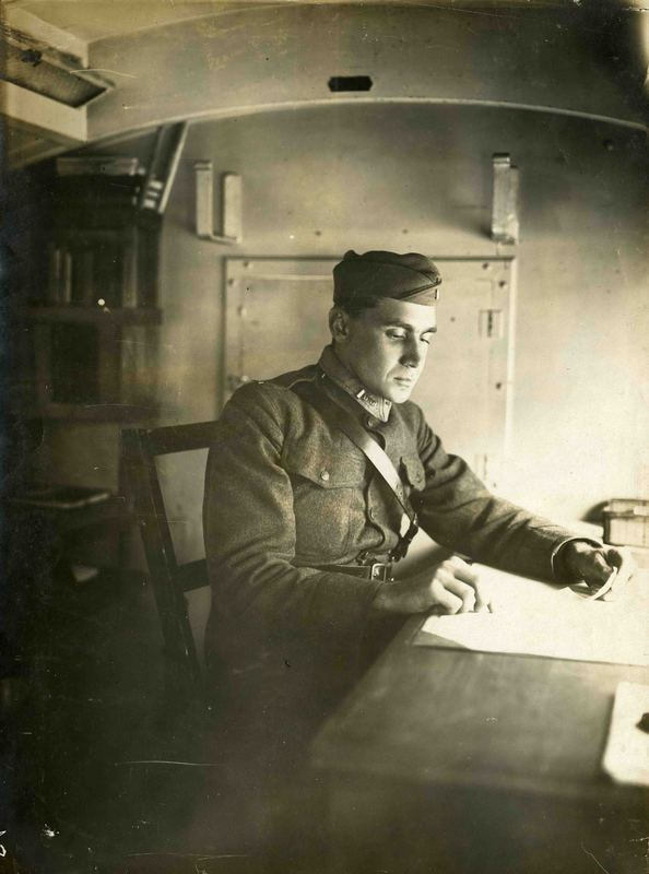 William A. Barnhill during his service in World War 1