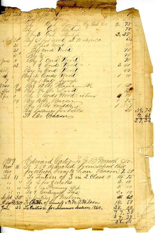J.B. Marsh Journal