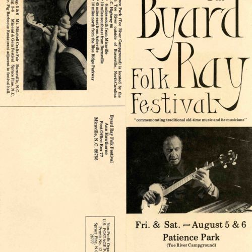 Brochure for 7th Byard Ray Festival, pgs 1 and 4